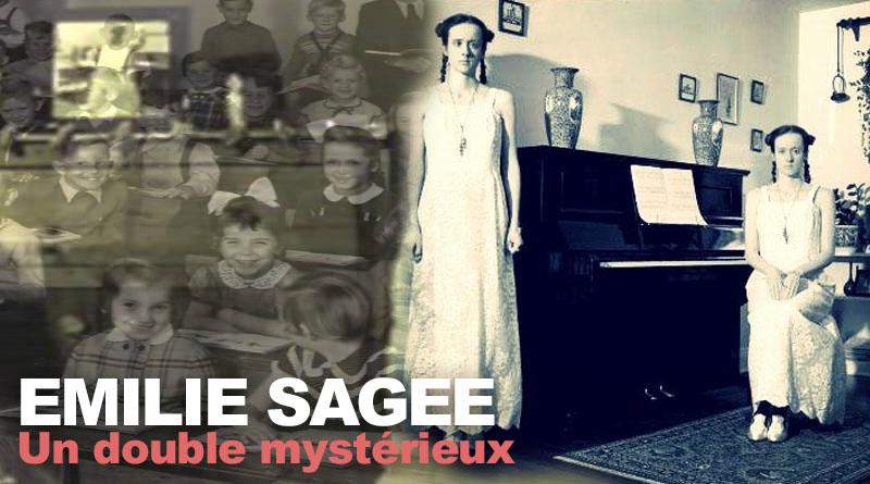 """Émilie Sagée et son mystérieux """"double""""."""