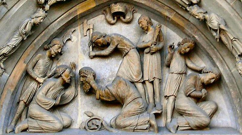 La décapitation de Saint Denis