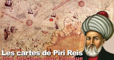Les cartes marines de Piri Reis
